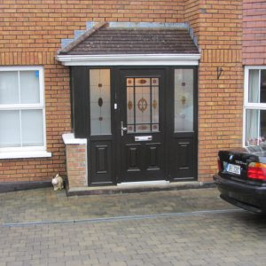Bog Oak Cairo Door, composite door, palladio door, entrance door, front door