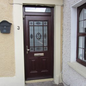 Rosewood Cairo door, composite door, palldio door, entrance door, front door